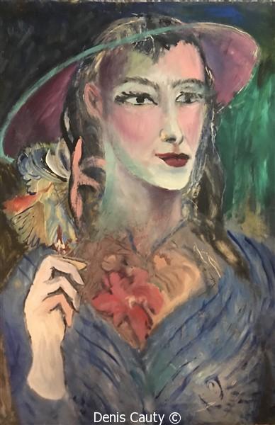 """Femme fleur"""