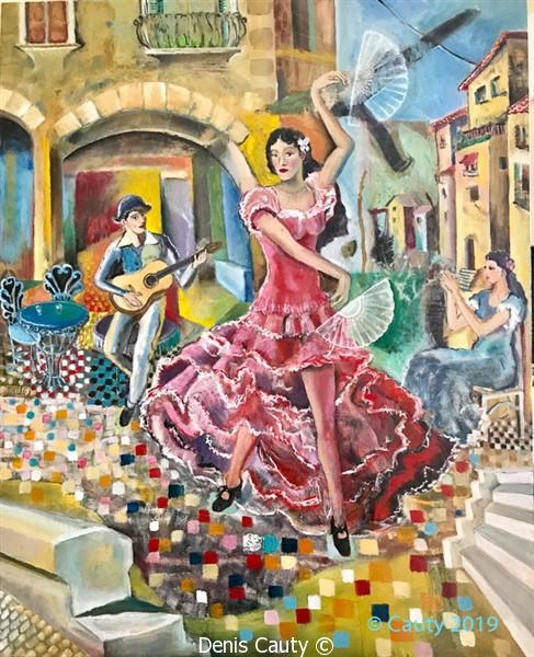 """La danseuse de flamenco"""